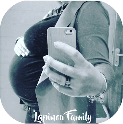 baby bump numbertwo lapinou family