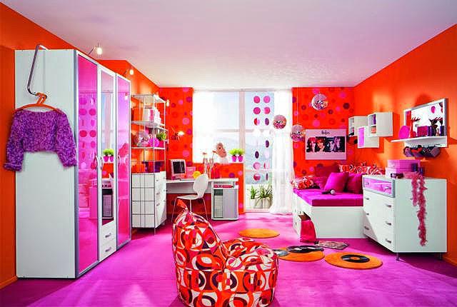 Dormitorios de colores para ni as dormitorios colores y for Cuartos de nina de 4 anos