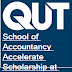 School of Accountancy Accelerate Scholarship at QUT in Australia, 2018