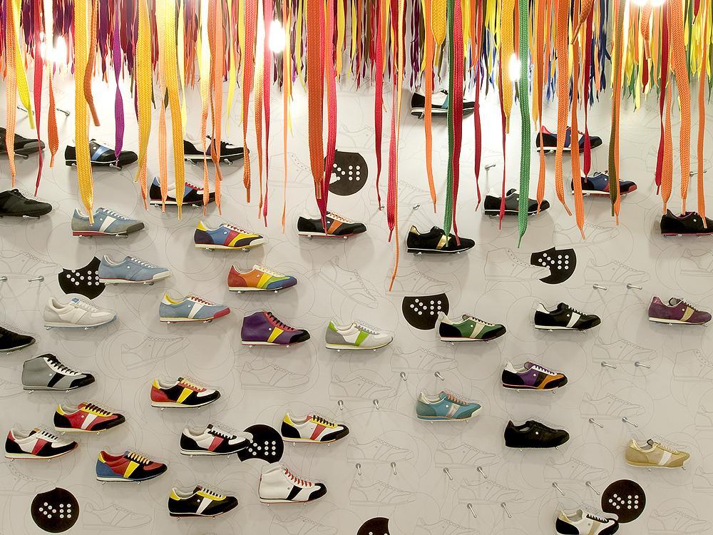 Shoe Shop Interior Design | Botas 66 | Designblok10 | Prague | A1 Architects
