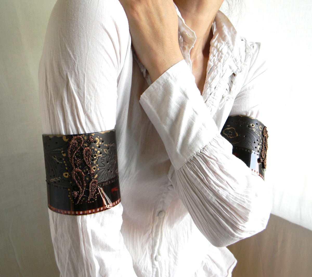Arm Jewelry-Cuffs-Body Art Costume