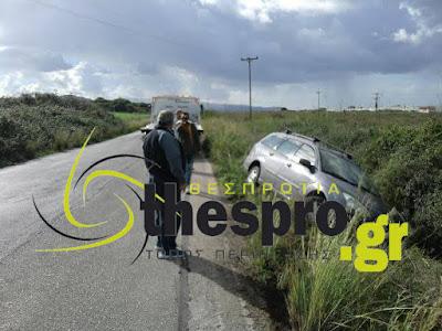 Εκτροπή οχήματος στο ίδιο σημείο όπου πριν τρία χρόνια είχαν χάσει τη ζωή τους δύο άτομα