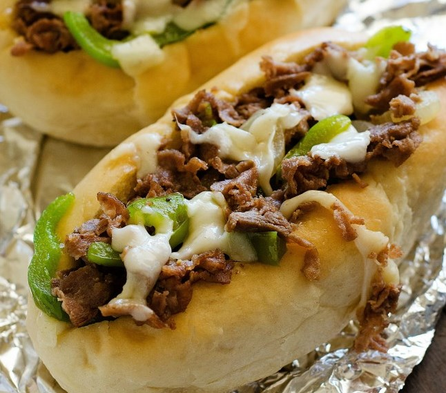 Cheesesteak Sandwiches #Sandwich #Dinner