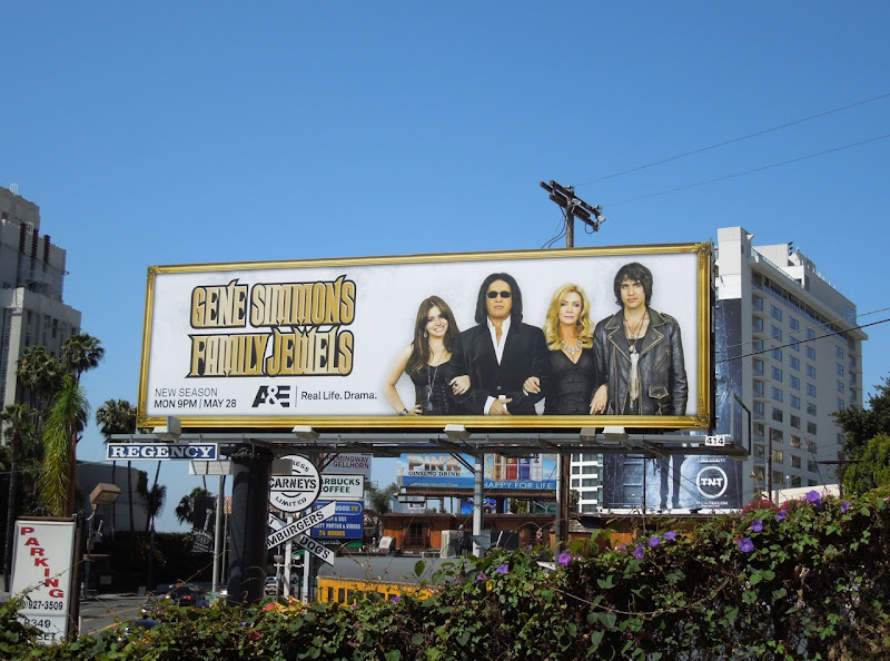 Gene Simmons Family Jewels season 7 billboard