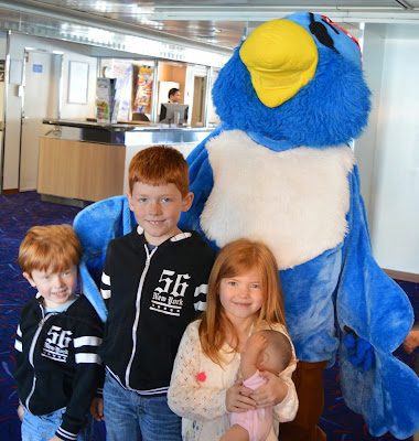 Kids club at DFDS Seaways
