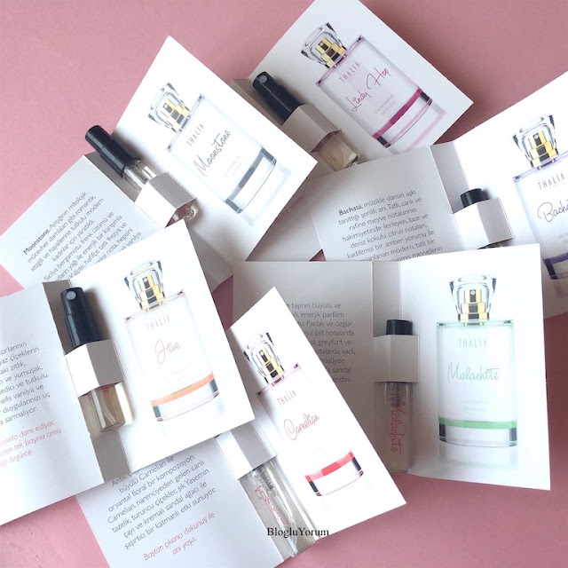 thalia natural beauty eau de parfüm serisi kadın parfümleri
