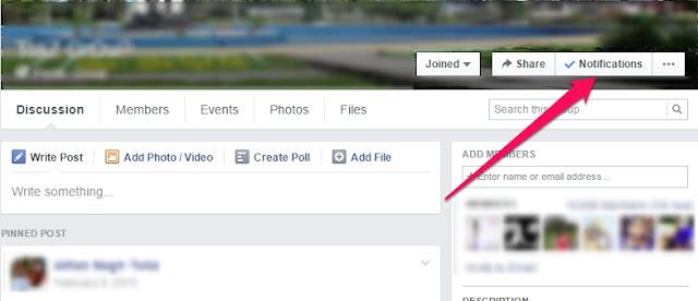Cara mengatasi pemberitahuan tidak penting di Fb (Group dan Tag)