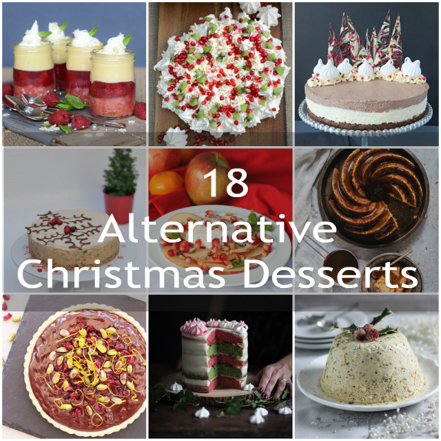 Alternative Christmas Desserts
