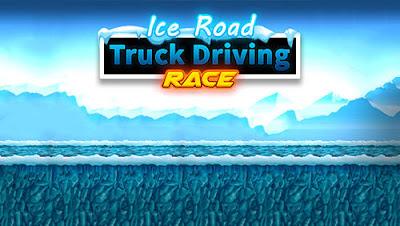 Ice road truck driving race Mod Apk Terbaru