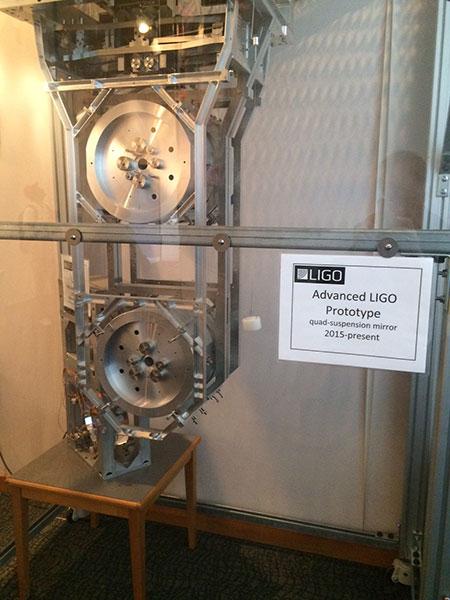 Advanced LIGO quad-suspension mirror prototype for seismic isolation