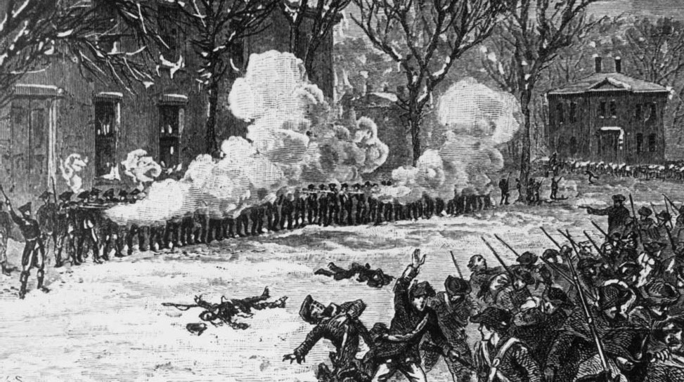 The economical crisis that followed the American Revolution sparked a contraction of credit Shays' Rebellion