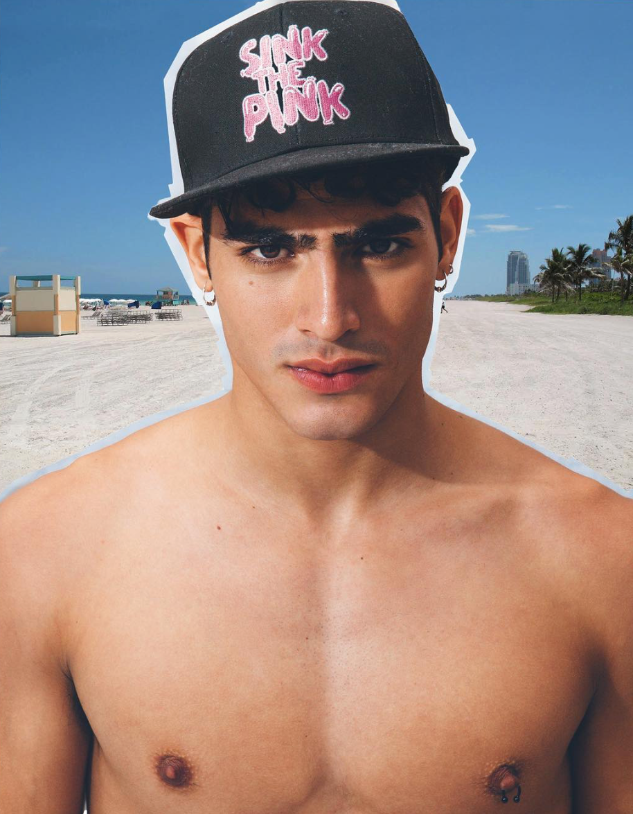 Jhonattan Burjack for Piers Atkinson x Sink The Pink