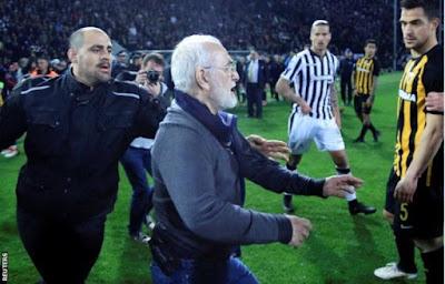 President of Greek club PAOK