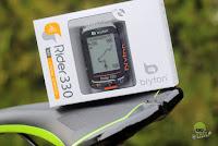 Castiga un ciclocomputer Rider 330T cu GPS, puls si cadenta