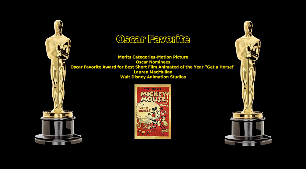 oscar favorite best short film animated award get a horse