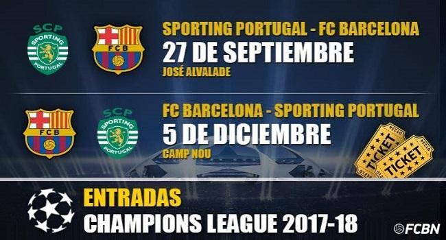 live streaming barcelona vs sporting lisbon