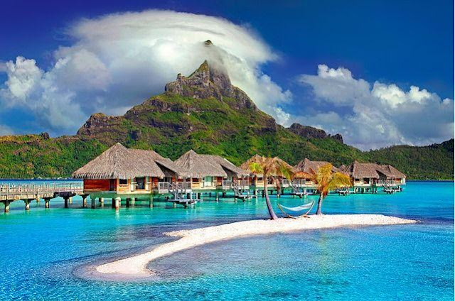 Polynesia Bora Bora Island Paradise Tahiti Travel, Best Vacation Spots For Couples