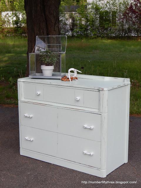 milk white dresser