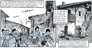Viñetas de La muerte de Guernica