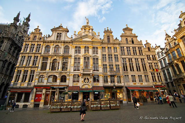 Bruselas Grand Place, por El Guisante Verde Project