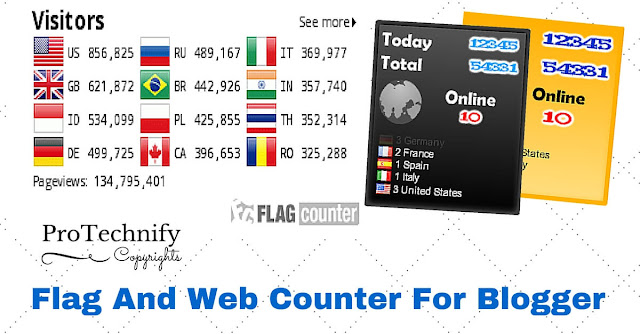 Fag web counter for web