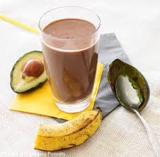 The Best Chocolate Avocado Smoothie