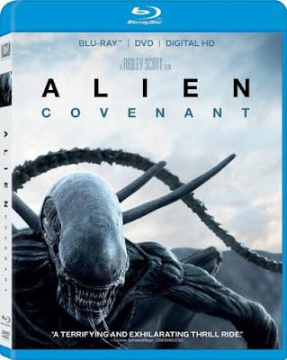 Alien Covenant 2017 Eng 720p BRRip 550mb ESub HEVC x265