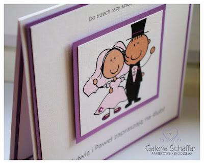 wesołe kolorowe zaproszenia na ślub galeria schaffar