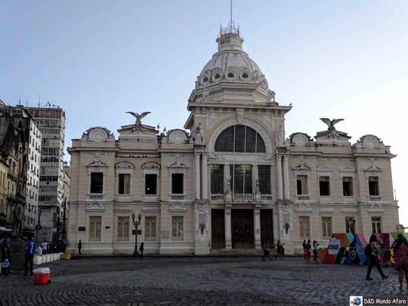 O que fazer em Salvador (Bahia) - Palácio do Rio Branco