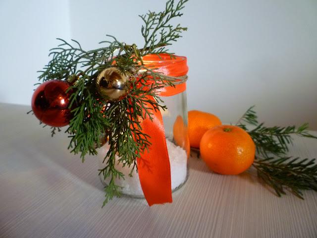 lampiony ze słoików-Boze Narodzenie dekoracje-DIY