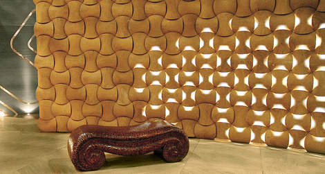 Patterned Wall Materials