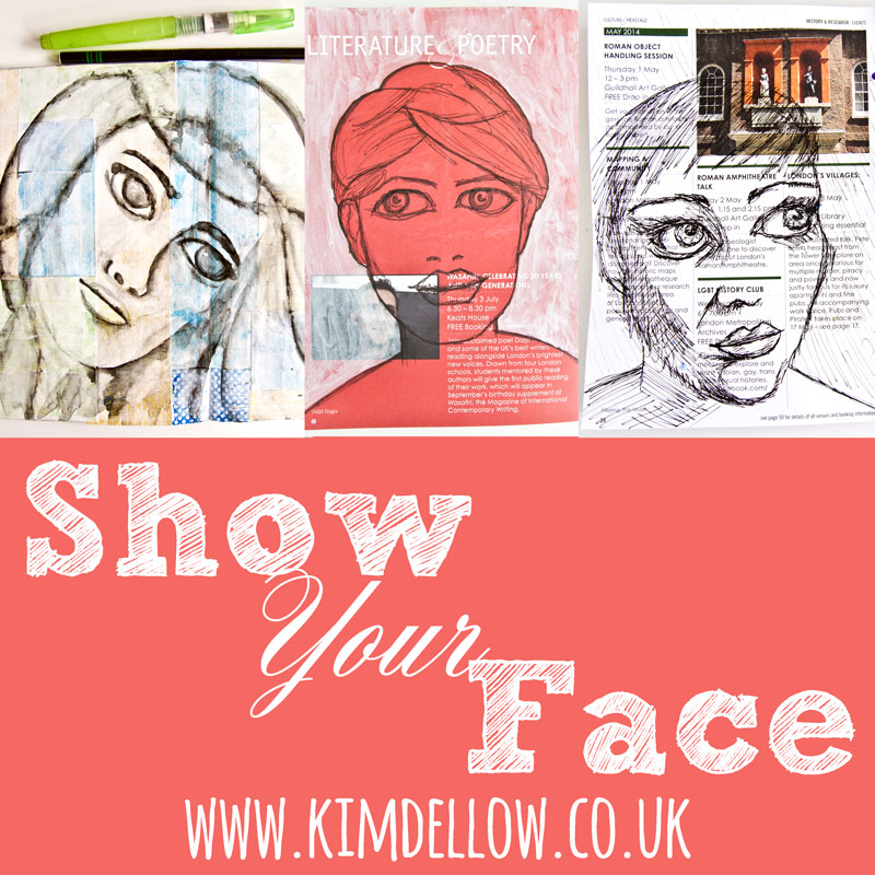 Click to go to the latest Show Your Face Link up