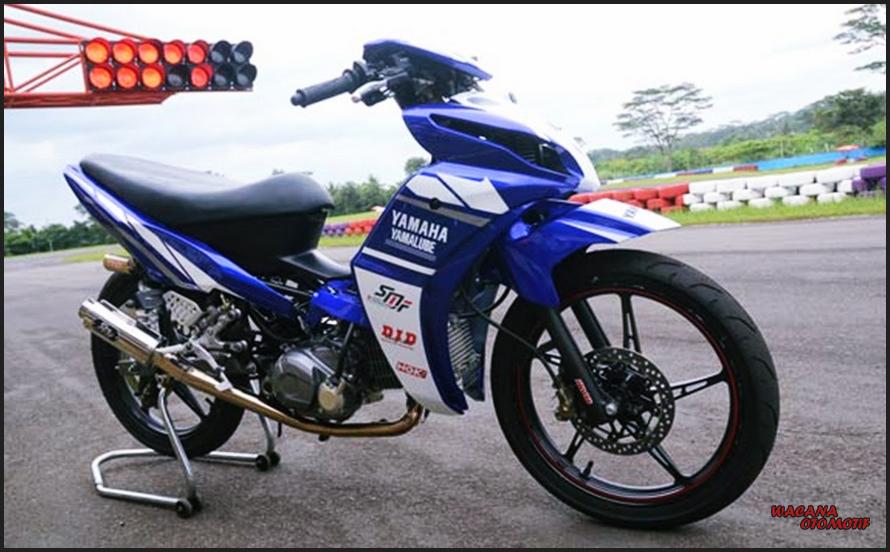 Gambar Modifikasi Motor Yamaha Jupiter Z Road Race Tercepat
