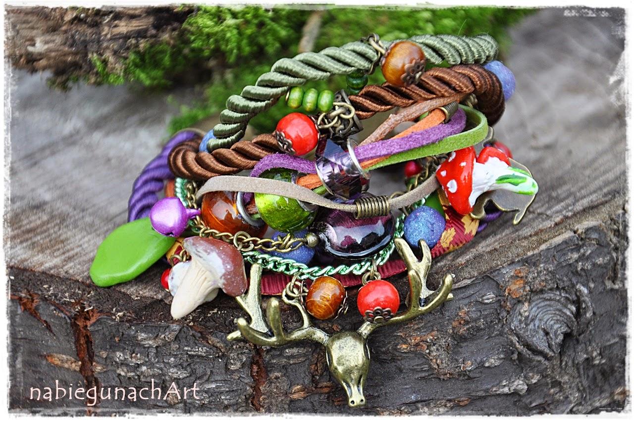 Leśna bransoletka
