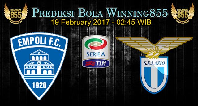 Prediksi Skor Empoli vs Lazio 19 February 2017