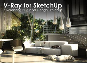 Lazzymoosey sketchup pro 8 vray plugin for Programma rendering free
