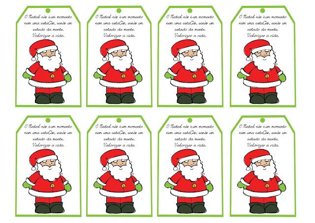 Cartões de Natal para Imprimir com Mensagens
