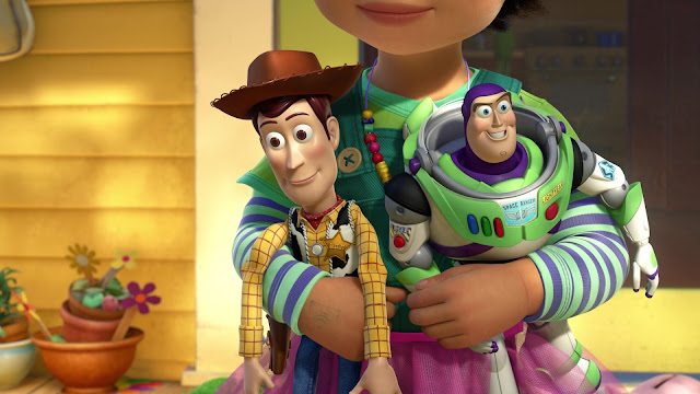 Toy Story i tre film visti oggi