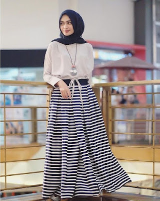 Model Baju Masa Kini Long Dress