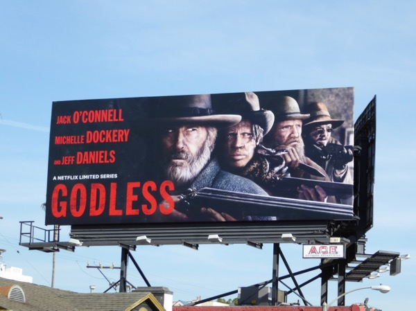 Godless limited series billboard