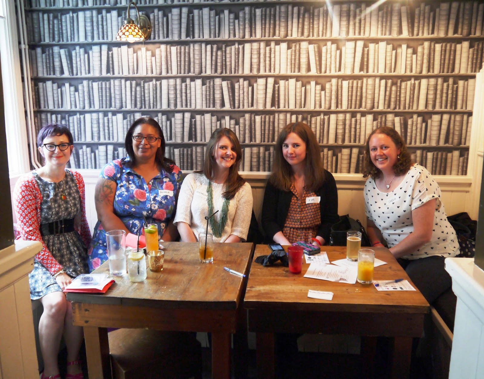 Lovely ladies at South West Blog Social