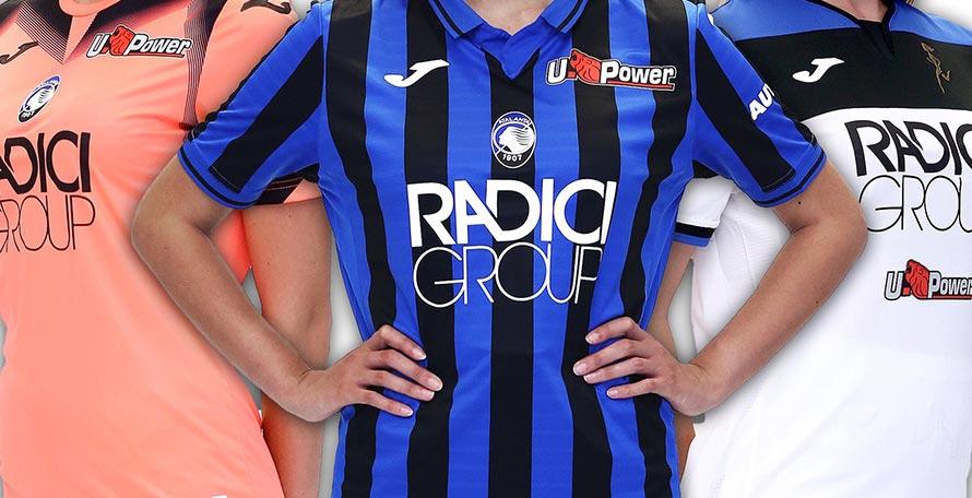 Atalanta 19-20 Home & Away Kits Released - Footy Headlines