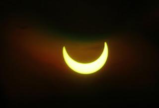 Gambar Gerhana Matahari Sebagian