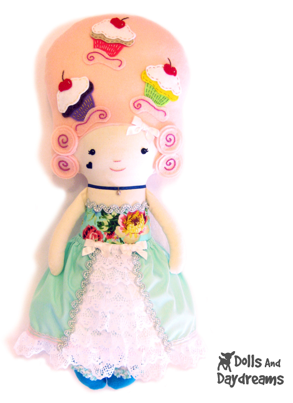 Dolls And Daydreams - Doll And Softie PDF Sewing Patterns: Mary ...