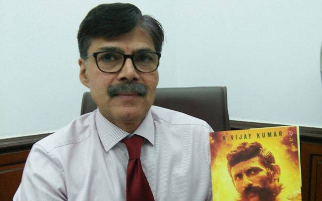 `CHASING THE BRIGAND' BY Shri K Vijaykumar Is An Experience To Be Read And Lived.