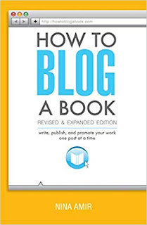 How to blog a book by Nina Amir