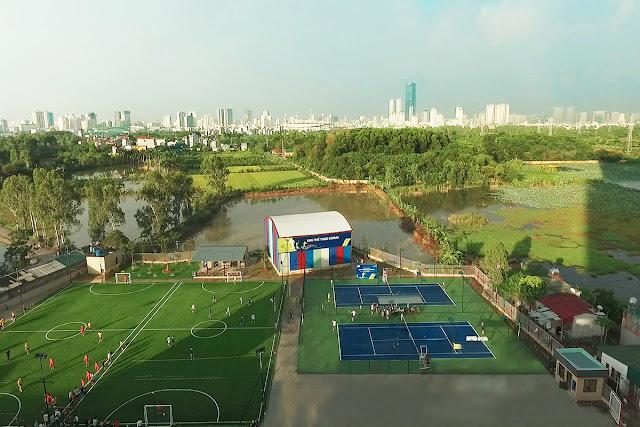 Khu thể thao phức hợp và không gian cây xanh