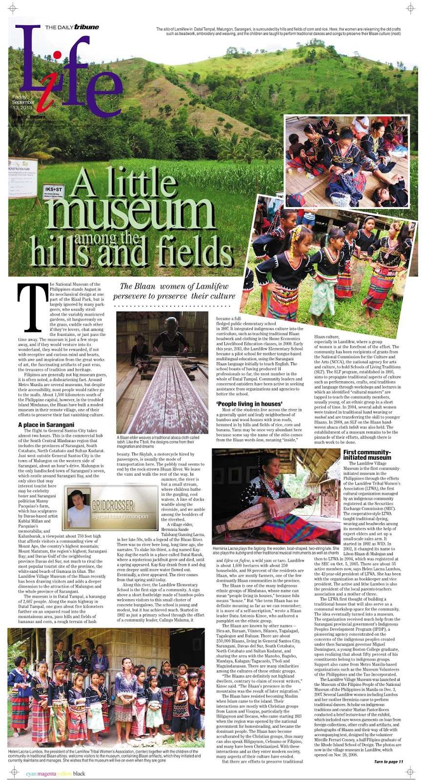Gridcrosser: A Little Museum by a River, Among the Hills and