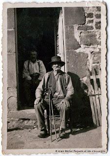Photo ancienne d'Auvergne