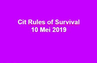 Link Download File Cheats Rules of Survival 10 Mei 2019